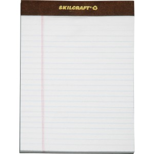 SKILCRAFT Perforated Writing Pad