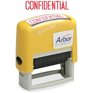 "SKILCRAFT Pre-inked ""Confidential"" Stamp"