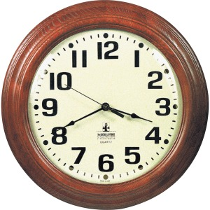 SKILCRAFT Hardwood Wall Clock