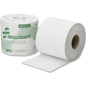 SKILCRAFT 2-Ply PCF Individual Toilet Tissue Rolls