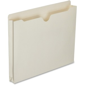 SKILCRAFT Double-ply Tab Expanding Manila File Jackets