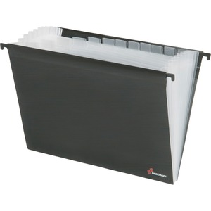 SKILCRAFT 12-tab Expandable Hanging Poly Folder