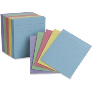 TOPS Oxford Color Mini Index Cards