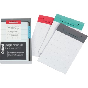 Oxford Page Marker Index Cards
