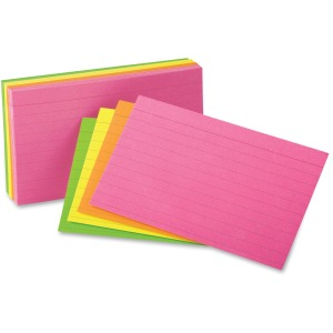 Oxford Printable Index Card - 10% Recycled