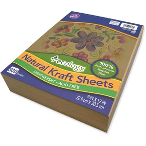 Ecology Natural Kraft Sheets