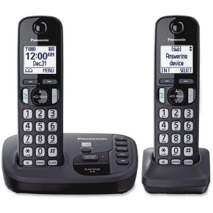 PANASONIC KXTGD222N GOLD - DECT+ 2-HANDSET/EXP/TAD