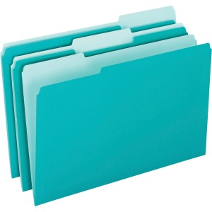 Pendaflex 1/3-cut Tab Color-coded Interior Folders