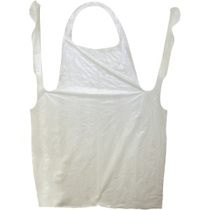 "Impact Products ProGuard Disposable 42"" Poly Apron"