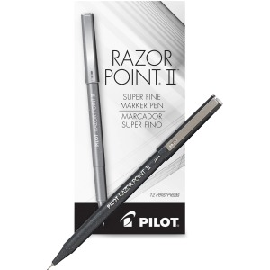 Pilot Razor Point II Marker Pens