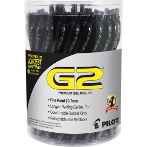 G2 Retractable Gel Ink Pens with Black Ink, 36 / Display Box