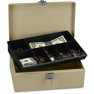 PM Securit Lock N' Latch Steel Cash Box