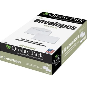 Quality Park Laser/Inkjet Printable Business Envelopes