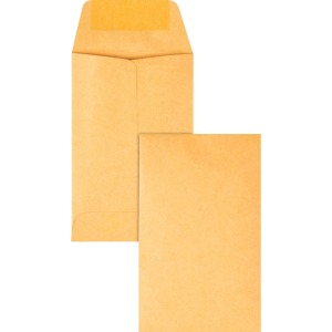 Quality Park Kraft Coin Envelopes