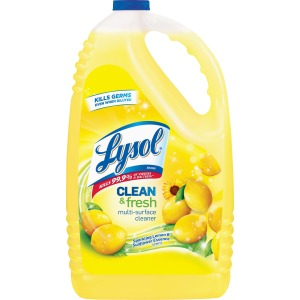 Lysol Lemon All Puorpose Disinfectant Cleaner, Gallon