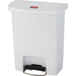 Rubbermaid Commercial Slim Jim 8-gal Step-On Container