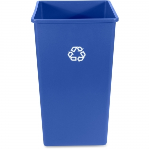 Rubbermaid Commercial 50-Gal Square Recycling Container