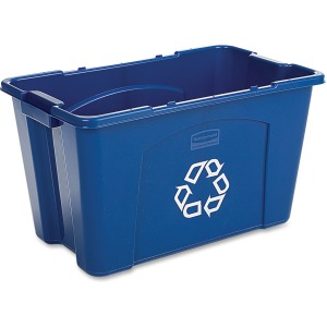 Rubbermaid Commercial 18-gallon Recycling Box