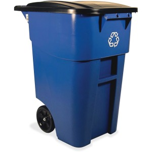 Rubbermaid Commercial Brute Recycling Rollout Container