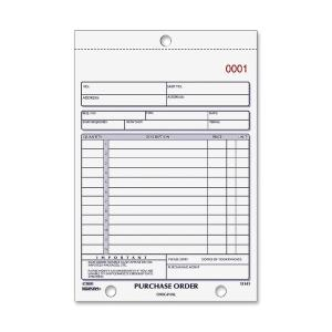 Rediform 2-part Carbonless Purchase Order Book