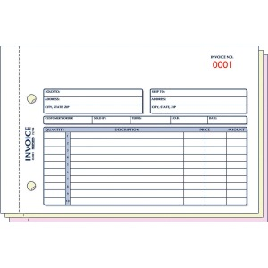 Rediform Carbonless Invoices