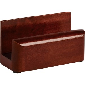 Rolodex Wood Tone Business Card Holders