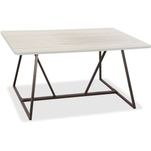 Safco Oasis Sitting-Height Teaming Table