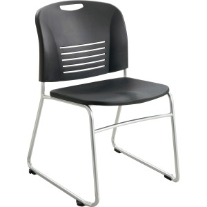 Safco Vy Sled Base Stack Chairs