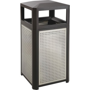 Safco Evos Series Steel 38-gal Waste Receptacle