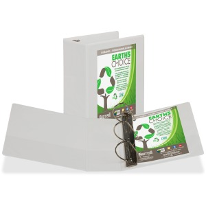 Samsill Earth's Choice Round Ring Eco-friendly View Binder