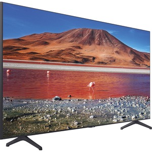 "Samsung Crystal TU7000 UN55TU7000F 54.6"" Smart LED-LCD TV - 4K UHDTV - Titan Gray, Black"