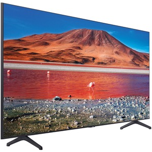 "Samsung Crystal TU7000 UN65TU7000F 64.5"" Smart LED-LCD TV - 4K UHDTV - Titan Gray, Black"