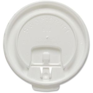 Solo White 8oz Hot Cup Lids