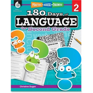 Shell Education Education 18 Days/Language 2nd-grade Book Printed Book by Christine Dugan