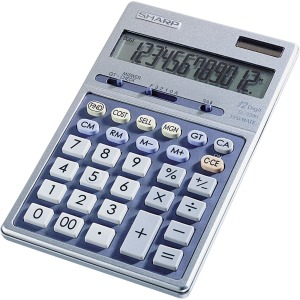 Sharp Calculators EL-339HB 12-Digit Executive Business Large Desktop Calculator