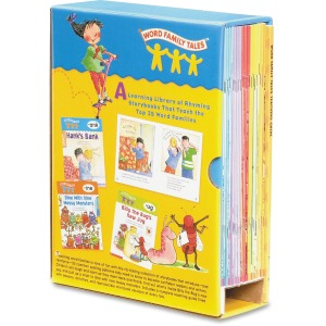 Scholastic Res. Word Family Tales Book Set Printed Book
