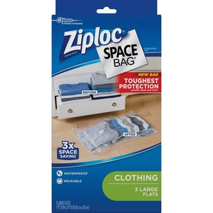 Ziploc® Clothing Space Bag