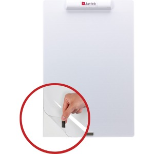 Justick White Frameless Mini Dry-Erase Board