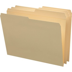 Smead Manila Folders with Reinforced Tab