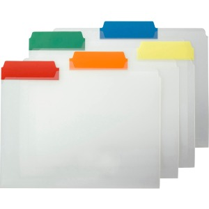 Smead Poly Color Coded File Folder