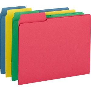 Smead 3-in-1 SuperTab Section Folders
