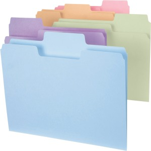 Smead Colored SuperTab® Folders