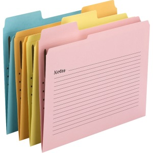 Smead SuperTab® Notes Fastener Folder