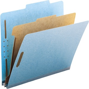 Smead 100% Recycled Pressboard Colored Classification Folders
