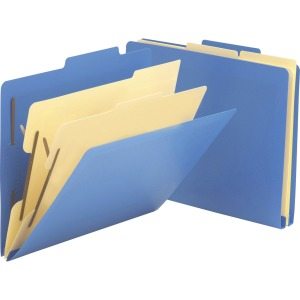 Smead Top Tab Heavy-duty Poly Classification Folders