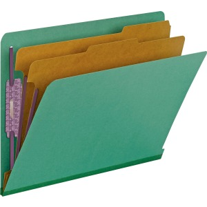Smead End Tab 2-Div Classification Folders
