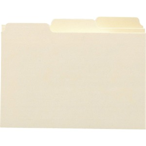 Smead Card Guides with Blank Tab