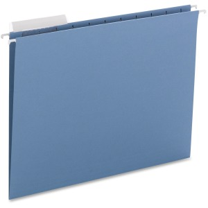 Smead Colored Hanging Folders with 1/3-Cut tabs