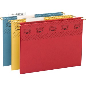 Smead TUFF® Hanging Folders with Easy Slide™ Tab