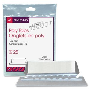 Smead Poly Tabs
